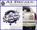 Captain Obvious D1 Decal Sticker PurpleEmblem Logo 120x97