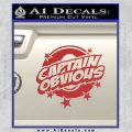Captain Obvious D1 Decal Sticker Red 120x120