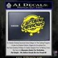 Captain Obvious D1 Decal Sticker Yellow Laptop 120x120