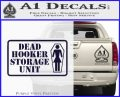Dead Hooker Storage Unit Decal Sticker PurpleEmblem Logo 120x97