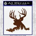 Deer Hunting Decal Sticker D3 BROWN Vinyl 120x120