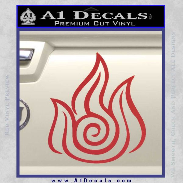 Fire Nation Symbol Avatar The Last Airbender Decal Sticker A1 Decals