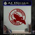 Firefly Serenity Express Futurama D1 Decal Sticker DRD Vinyl 120x120