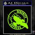 Firefly Serenity Express Futurama D1 Decal Sticker Lime Green Vinyl 120x120