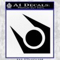 Half Life Combine Decal Sticker Black Vinyl 120x120