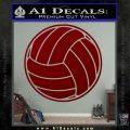 Volleyball0 2 Decal Sticker DRD Vinyl 120x120