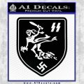 11th Panzer Division Ghost Zusatz Decal Sticker Black Logo Emblem 120x120