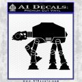 AT AT Decal Sticker D2 Black Logo Emblem 120x120