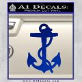 Anchor Decal Sticker Blue Vinyl 120x120