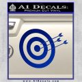 Archery Target Decal Sticker D2 Blue Vinyl 120x120