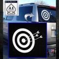 Archery Target Decal Sticker D2 White Emblem 120x120