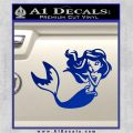 Ariel Decal Sticker Cute Mermaid Blue Vinyl Vinyl 120x120