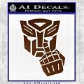 Autobot The FInger Decal Sticker Transformers Brown Vinyl 120x120