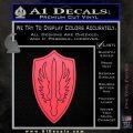 Battlestar Pegasus Wings Decal Sticker BSG Pink Vinyl Emblem 120x120