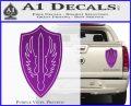 Battlestar Pegasus Wings Decal Sticker BSG Purple Vinyl 120x97
