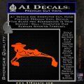 Bird Of Prey Decal Sticker Klingon Ship Star Trek D1 Orange Vinyl Emblem 120x120