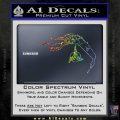 Bird Of Prey Decal Sticker Klingon Ship Star Trek D2 Sparkle Glitter Vinyl 120x120