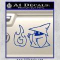 Black Mage Decal Sticker Final Fantasy Fire Blue Vinyl 120x120