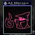Black Mage Decal Sticker Final Fantasy Fire Hot Pink Vinyl 120x120