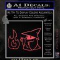 Black Mage Decal Sticker Final Fantasy Fire Pink Vinyl Emblem 120x120