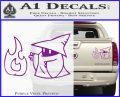 Black Mage Decal Sticker Final Fantasy Fire Purple Vinyl 120x97