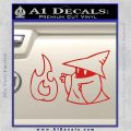 Black Mage Decal Sticker Final Fantasy Fire Red Vinyl 120x120