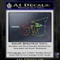 Black Mage Decal Sticker Final Fantasy Fire Sparkle Glitter Vinyl 120x120