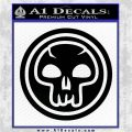 Black Mana Symbol Decal Sticker MTG Magic Black Logo Emblem 120x120