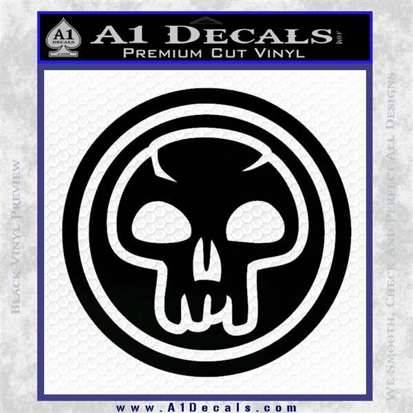 Black Mana Symbol Decal Sticker Mtg Magic A1 Decals