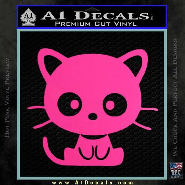 Cute Kitty Cat Jdm Decal Sticker 187 A1 Decals