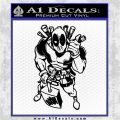 Dead Fool TNT Decal Sticker Black Logo Emblem 120x120
