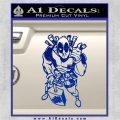 Dead Fool TNT Decal Sticker Blue Vinyl 120x120