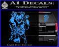 Dead Fool TNT Decal Sticker Light Blue Vinyl 120x97