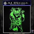 Dead Fool TNT Decal Sticker Lime Green Vinyl 120x120