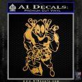 Dead Fool TNT Decal Sticker Metallic Gold Vinyl Vinyl 120x120