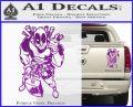 Dead Fool TNT Decal Sticker Purple Vinyl 120x97