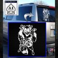 Dead Fool TNT Decal Sticker White Emblem 120x120