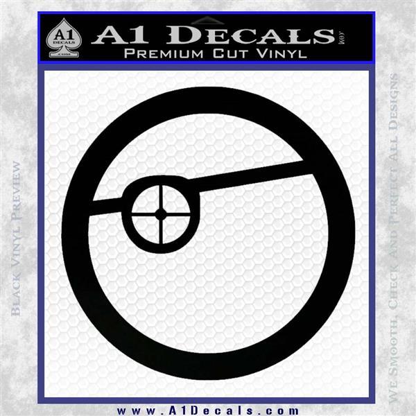 Deadshot Emblem Dlb Decal Sticker 187 A1 Decals