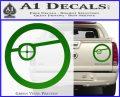 Deadshot emblem DLB Decal Sticker Green Vinyl 120x97