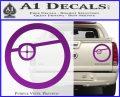 Deadshot emblem DLB Decal Sticker Purple Vinyl 120x97