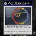 Deadshot emblem DLB Decal Sticker Sparkle Glitter Vinyl 120x120