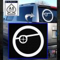 Deadshot emblem DLB Decal Sticker White Emblem 120x120