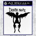 Death Note Ryuk Decal Sticker Black Logo Emblem 120x120