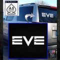 Eve Online Logo Decal Sticker White Emblem 120x120
