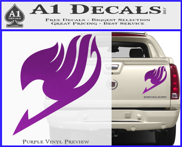 Fairy Tail Logo Decal Sticker D1 » A1 Decals