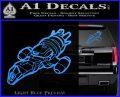 Firefly Serenity Ship Decal Sticker Light Blue Vinyl 120x97