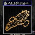 Firefly Serenity Ship Decal Sticker Metallic Gold Vinyl Vinyl 120x120