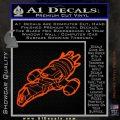 Firefly Serenity Ship Decal Sticker Orange Vinyl Emblem 120x120