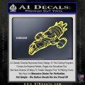 Firefly Serenity Ship Decal Sticker Yelllow Vinyl 120x120