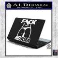 Fuck As JDM Decal Sticker Ass White Vinyl Laptop 120x120